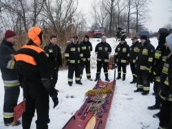 ćwiczenia na lodzie